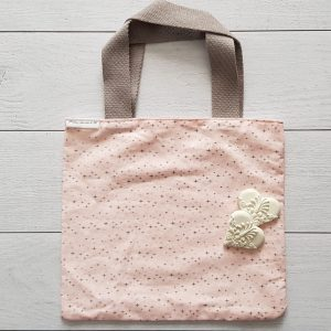 Le p'tit tote bag pink star
